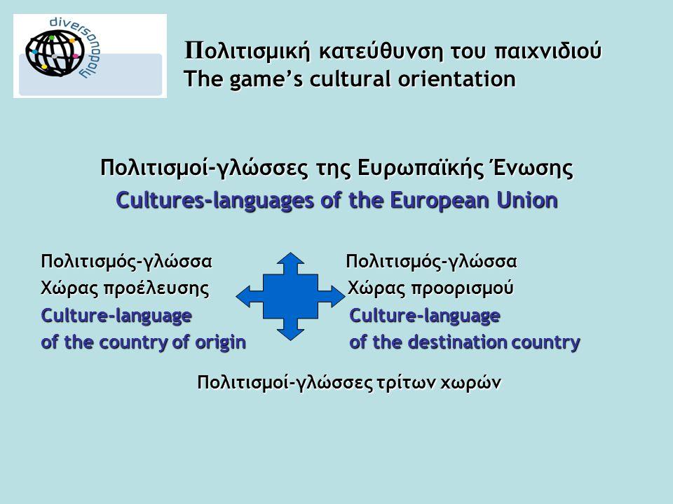 ΒΑΣΙΚΕΣ ΠΛΗΡΟΦΟΡΙΕΣ BASIC INFORMATION •Κοινό-στόχος: μετανάστες, ενήλικοι ή/και έφηβοι μαθητές της μητρικής γλώσσας ως ξένης/δεύτερης με διαφορετική πολιτιστική και γλωσσική προέλευση.