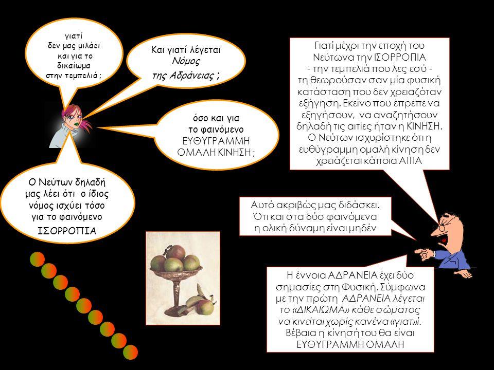 η έννοια ΜΑΖΑ η Φυσική είναι ΑΝΤΙΚΕΙΜΕΝΑ, ΦΑΙΝΟΜΕΝΑ ΕΝΝΟΙΕΣ, ΝΟΜΟΙ 19