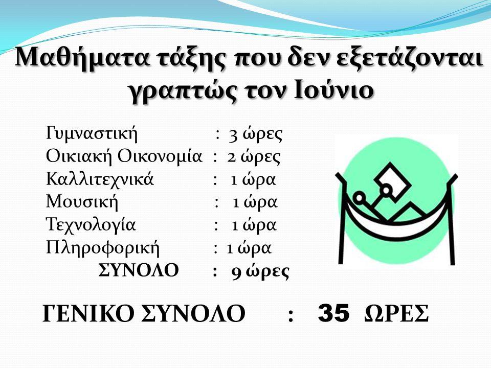 Μαθήματα τάξης Τα μαθήματα που θα καλύψουμε στηνΒ! τάξηείναι: Τα μαθήματα που θα καλύψουμε στην Β! τάξη είναι:  Αρχαία Ελληνική γλώσσα – 3 ώρες  Αρχ