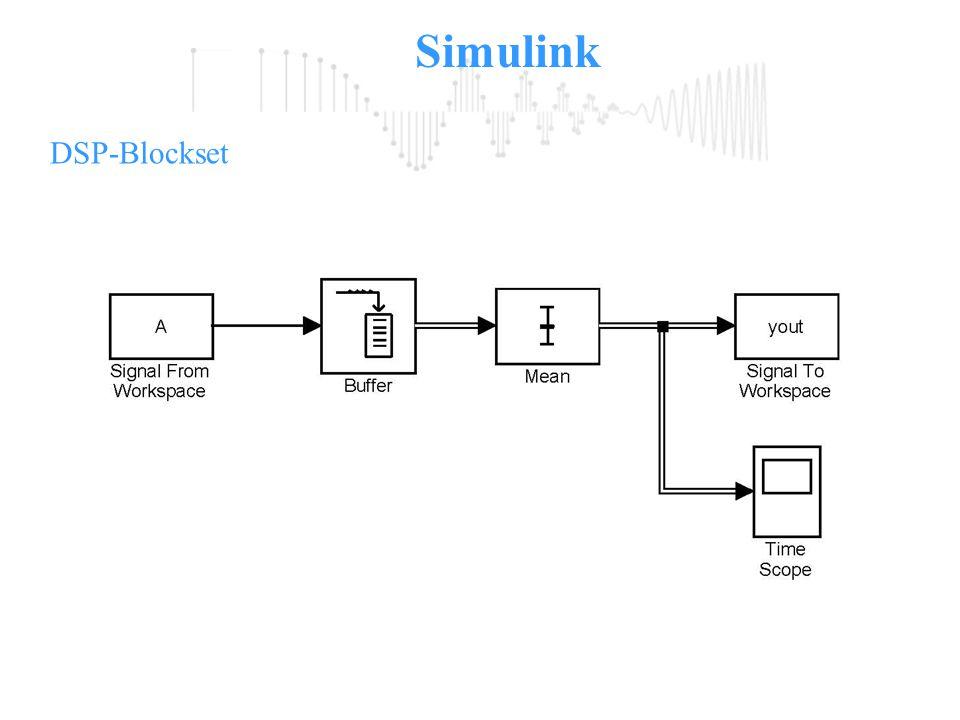Simulink DSP-Blockset