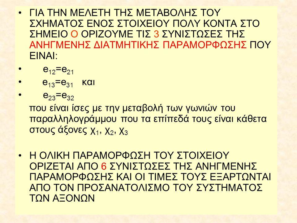 ΕΞΙΣΩΣΗ ΚΥΜΑΤΟΣ •Η γενικευμένη μορφή της εξίσωσης κύματος σε ελαστικό μέσο είναι: •όπου ρ πυκνότητα • u μετάθεση • κ μέτρο κυβικής ελαστικότητας • μ μέτρο δυσκαμψίας (τάξη μεγέθους 10 6 dyn/cm 2 )