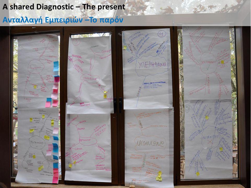 A shared Diagnostic – The present Ανταλλαγή Εμπειριών –Το παρόν