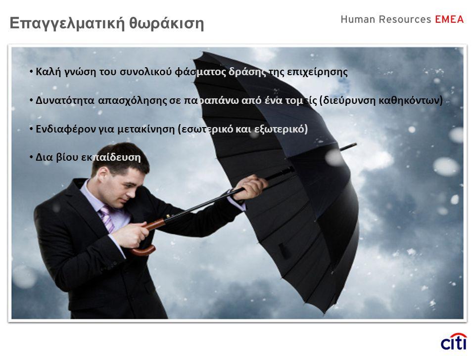 Επαγγελματική θωράκιση • Καλή γνώση του συνολικού φάσματος δράσης της επιχείρησης • Δυνατότητα απασχόλησης σε παραπάνω από ένα τομείς (διεύρυνση καθηκ