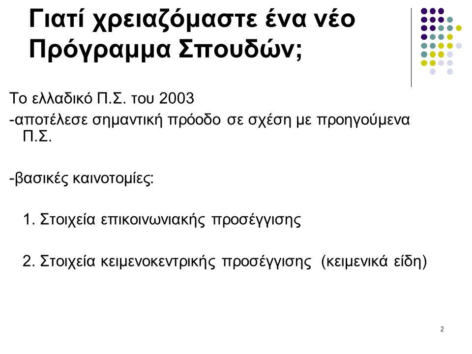 23 Η «μυθολογία» της επικοινωνιακής προσέγγισης Μύθος 7: Ποιος μιλάει ποια γλώσσα σε ποιον και πότε;  Το παραπάνω γίνεται αντιληπτό ως: «ποιος είναι ο πρωταγωνιστής του κειμένου;», «ποιοι οι άλλοι ήρωες;», «μιλάνε ωραία ή άσχημα, με επίθετα, με παρομοιώσεις, με μεταφορές;», και, φυσικά, «πώς θα τους χαρακτηρίζαμε;»  Στην καλύτερη περίπτωση, το παραπάνω μεταφράζεται ως «επίσημη»/ «ανεπίσημη» επικοινωνία.