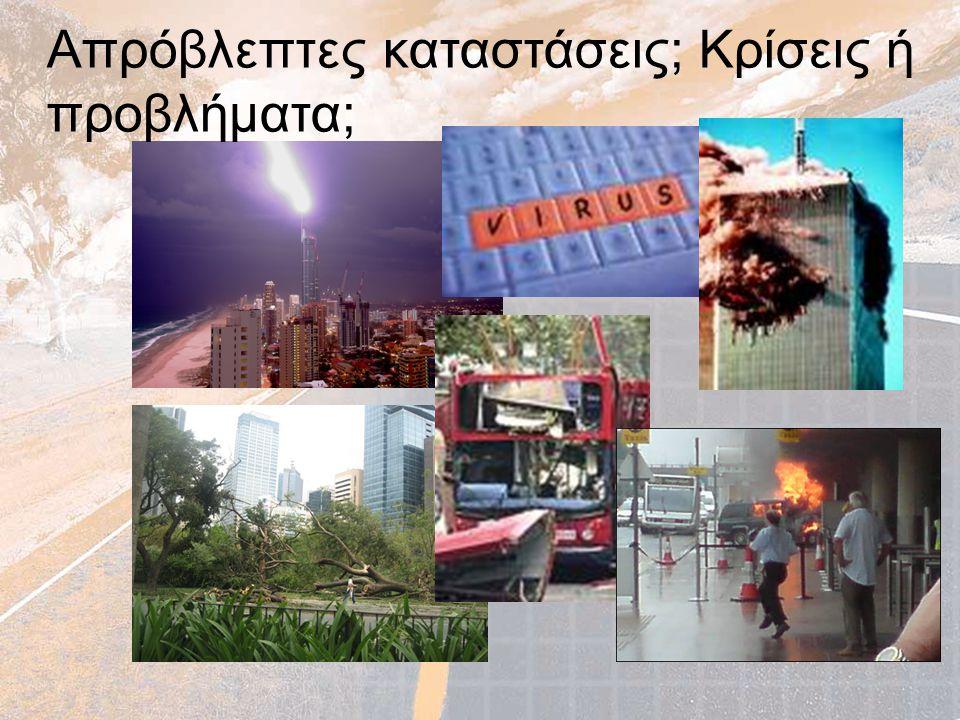 Περιεχόμενα Σχεδίου ανά κατάσταση κρίσης (3) Μέρος ΙΙ.