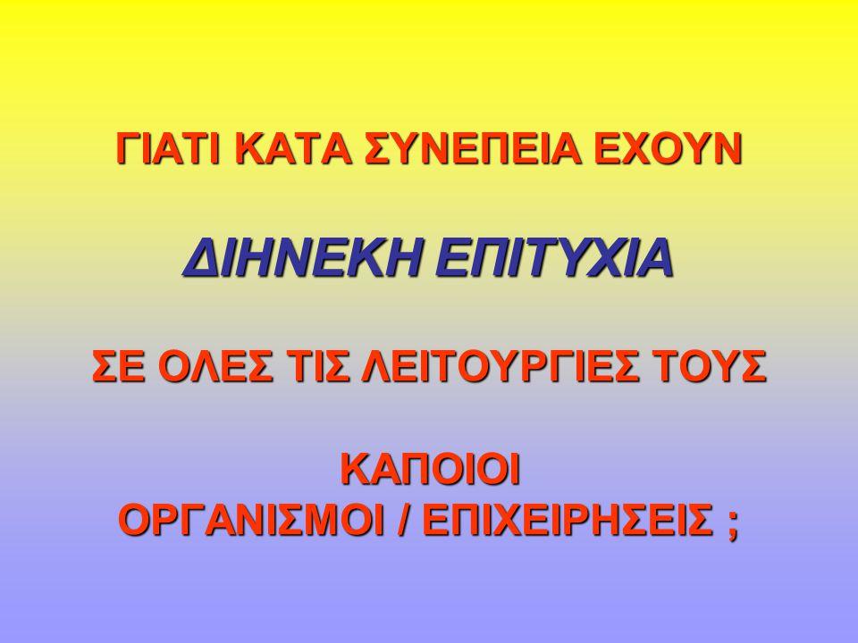 ΙΔΕΩΔΕΣ ΟΡΓΑΝΩΣΙΑΚΗΣ ΔΟΜΗΣ 1.