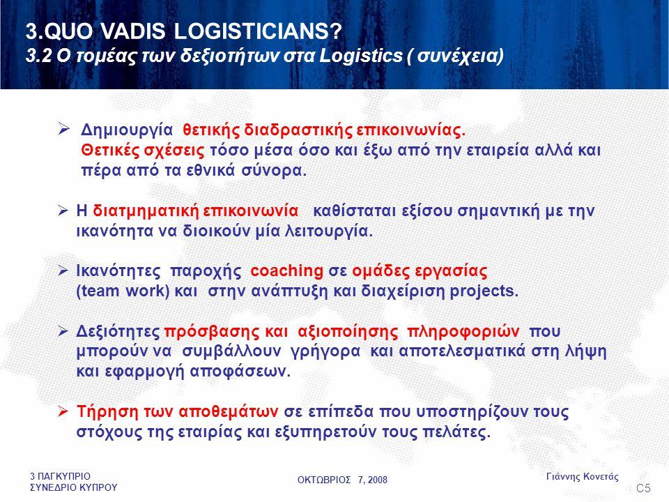 ΟΚΤΩΒΡΙΟΣ 7, 2008 Γιάννης Κονετάς3 ΠΑΓΚΥΠΡΙΟ ΣΥΝΕΔΡΙΟ ΚΥΠΡΟΥ  Δημιουργία θετικής διαδραστικής επικοινωνίας.