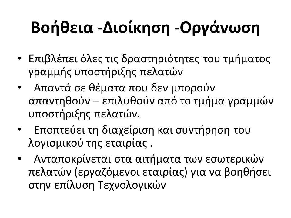 ΠΗΓΕΣ https://sites.google.com/site/safecompany000/ home/dieuthyntes-plerophoriakon-syst http://www.rotise.gr/erotisi/poios-einai-o-rolos- toy-dieythynti-pliroforiakon-systimaton.html