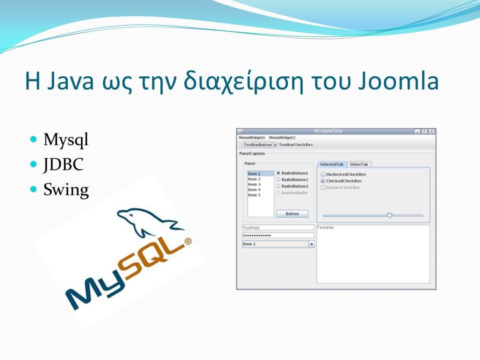 Βασικές λειτουργίες  Χρήστες  Κατηγορίες  Άρθρα Προσθήκη Επεξεργασία Διαγραφή