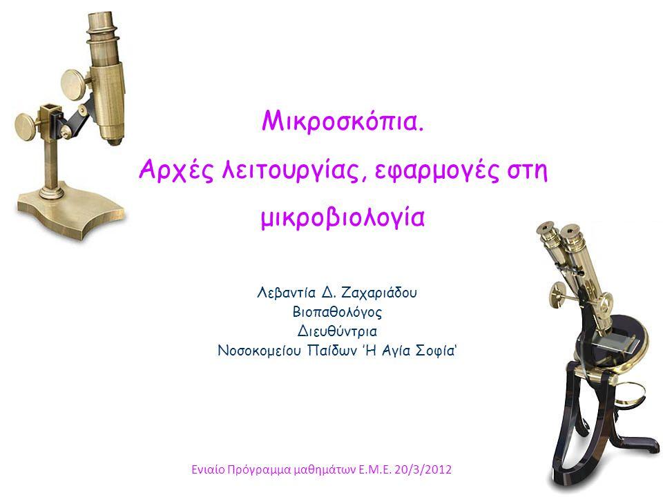 Σύστημα φωτισμού Συμπυκνωτής (ΙΙ)  ΔΙΟΡΘΩΣΗ ΣΦΑΛΜΑΤΩΝ Abbè : όχι διόρθωση σφαλμάτων (  ΝΑ   διακριτική ικανότητα).