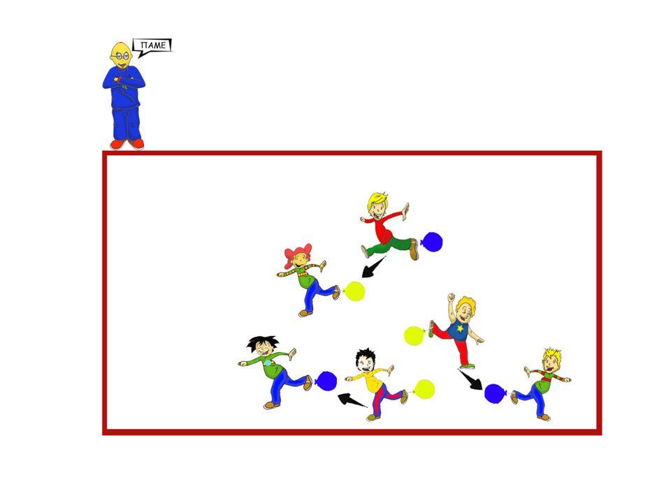 Καπέλα και μπαλόνια Στόχος Κινητική δεξιότητα, συνεργασία, ομαδικότητα.