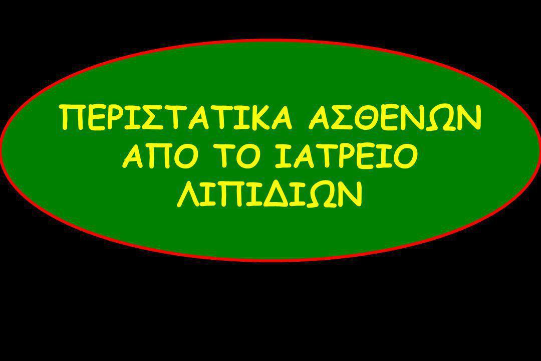 ΠΕΡΙΣΤΑΤΙΚΑ ΑΣΘΕΝΩΝ ΑΠΟ ΤΟ ΙΑΤΡΕΙΟ ΛΙΠΙΔΙΩΝ