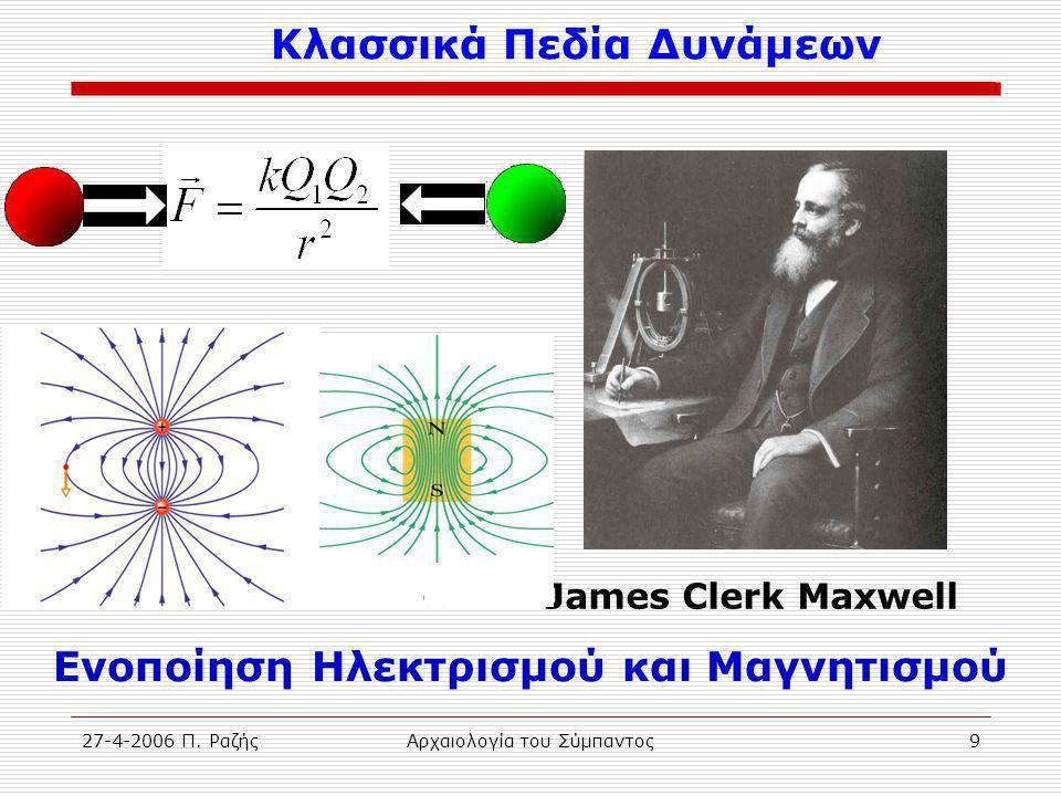 27-4-2006 Π.ΡαζήςΑρχαιολογία του Σύμπαντος10 Κβαντομηχανική 1.
