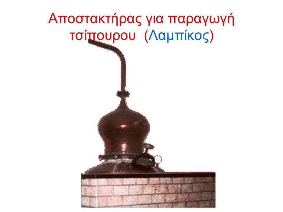 Aποστακτήρας για παραγωγή τσίπουρου (Λαμπίκος)