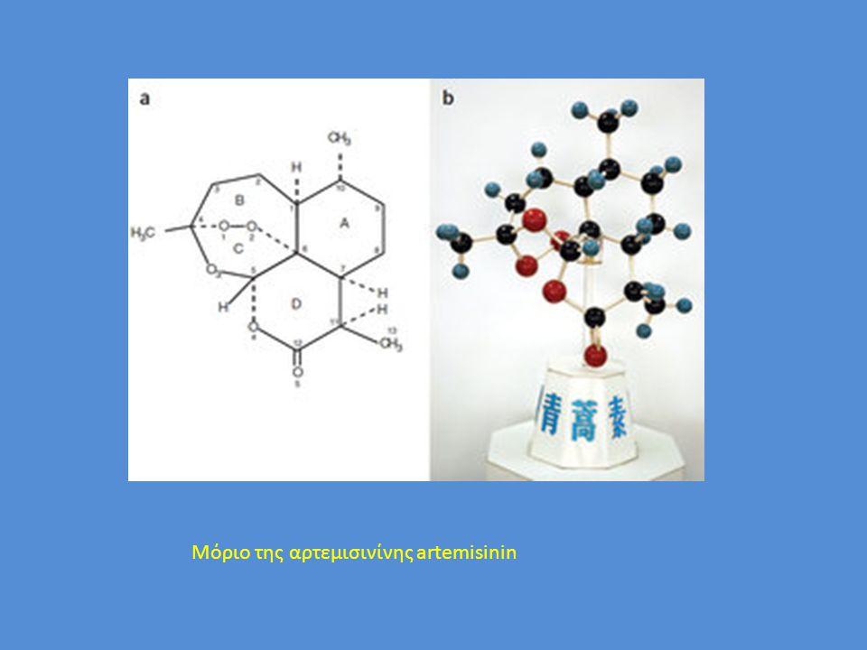 Μόριο της αρτεμισινίνης artemisinin