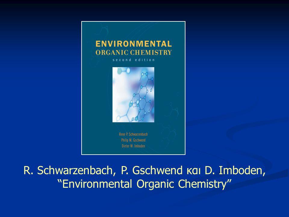 Μεταφορά Ενώσεων μεταξύ Υδάτων και Ατμόσφαιρας Ύδατα Ατμόσφαιρα Στάσιμο στρώμα επιφανειακού νερού Διεπιφάνεια Νερού-Αέρα ~1 mm ~ 0.1 mm Απλοϊκή απεικόνιση συστήματος νερού-αέρα: 4 στρώματα 1) Στροβιλώδες στρώμα αέρα (καλή ανάμιξη) 2) Λεπτό στρώμα στάσιμου αέρα (~1 mm) 3) Λεπτό στρώμα στάσιμου ύδατος (~ 0.1 mm) 4) Στροβιλώδες στρώμα νερού (καλή ανάμιξη) Στάσιμο στρώμα επιφανειακού αέρα Στροβιλώδης ανάμιξη Μοριακή Διάχυση Στροβιλώδης ανάμιξη Στρώματα 1), 4): Γρήγορη κατακόρυφη μεταφορά Στρώματα 2), 3): Απουσία στροβιλότητας Αργή κίνηση λόγω διάχυσης Καθοριστικό στάδιο στη μεταφορά μεταξύ υδάτων-ατμόσφαιρας