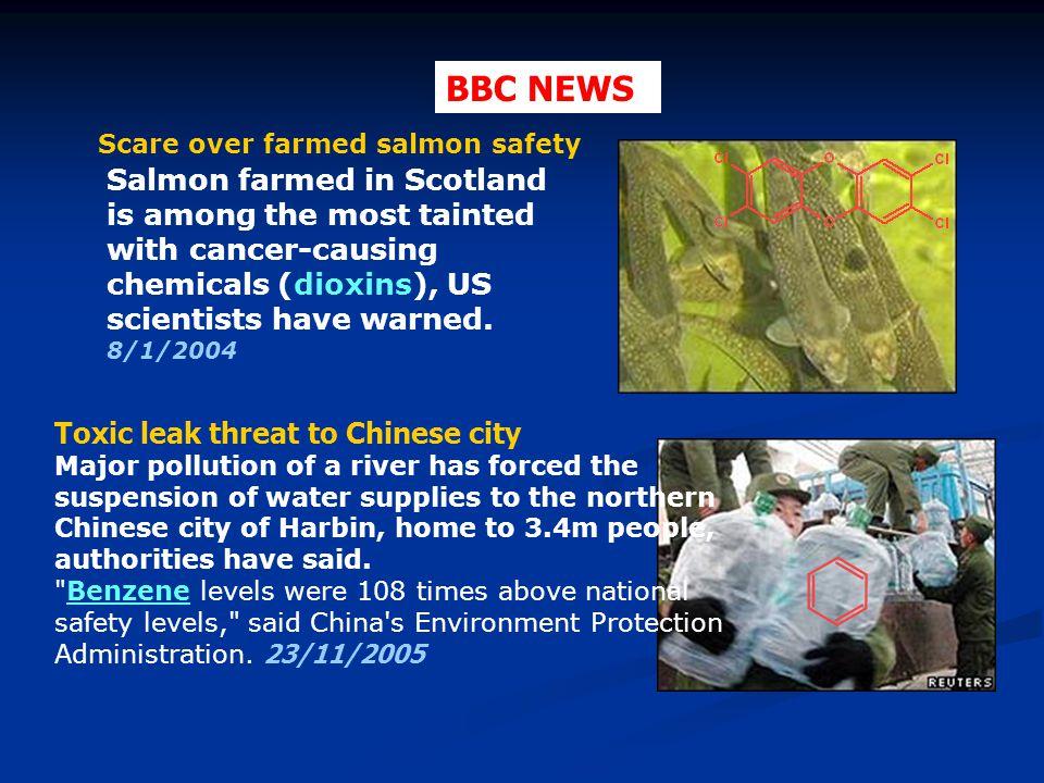 Εξαιτίας ενός ατυχήματος, άγνωστη ποσότητα βενζολίου διέρρευσε μέσα σε μια λίμνη (με καλή ανάμιξη), η οποία χρησιμοποιείται ως δεξαμενή πόσιμου νερού για μια μικρή πόλη.