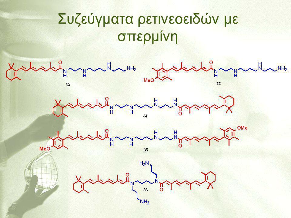 Συζεύγματα ρετινεοειδών με σπερμίνη