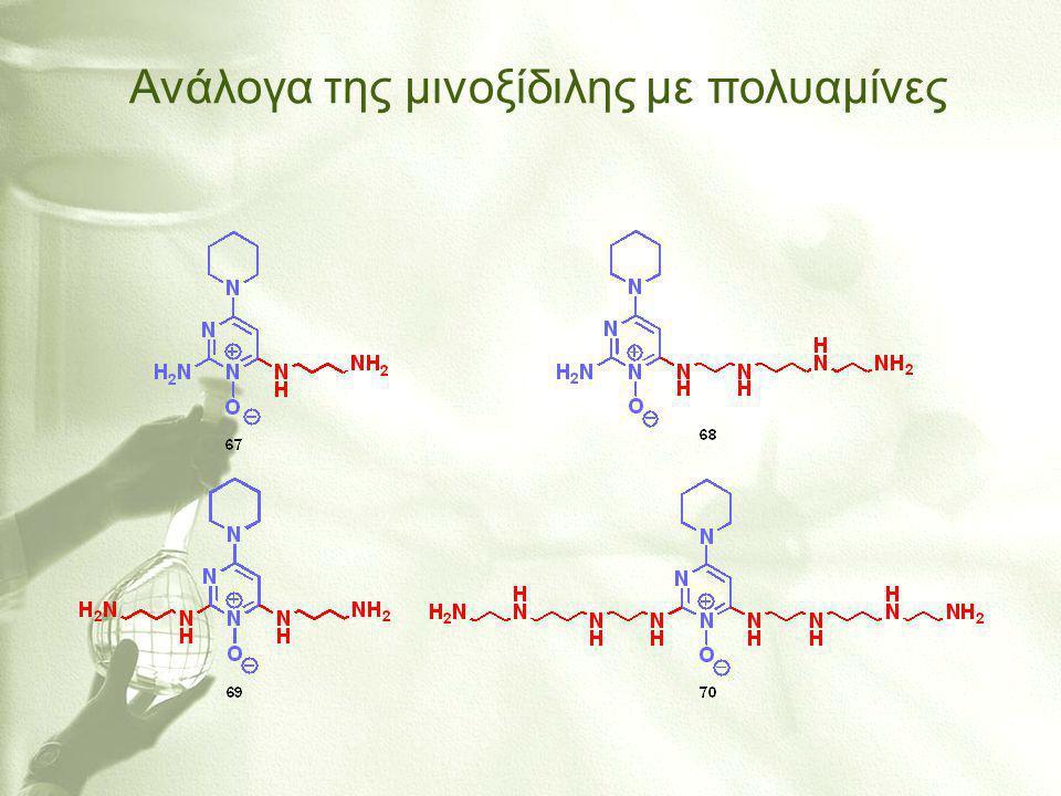 Ανάλογα της μινοξίδιλης με πολυαμίνες