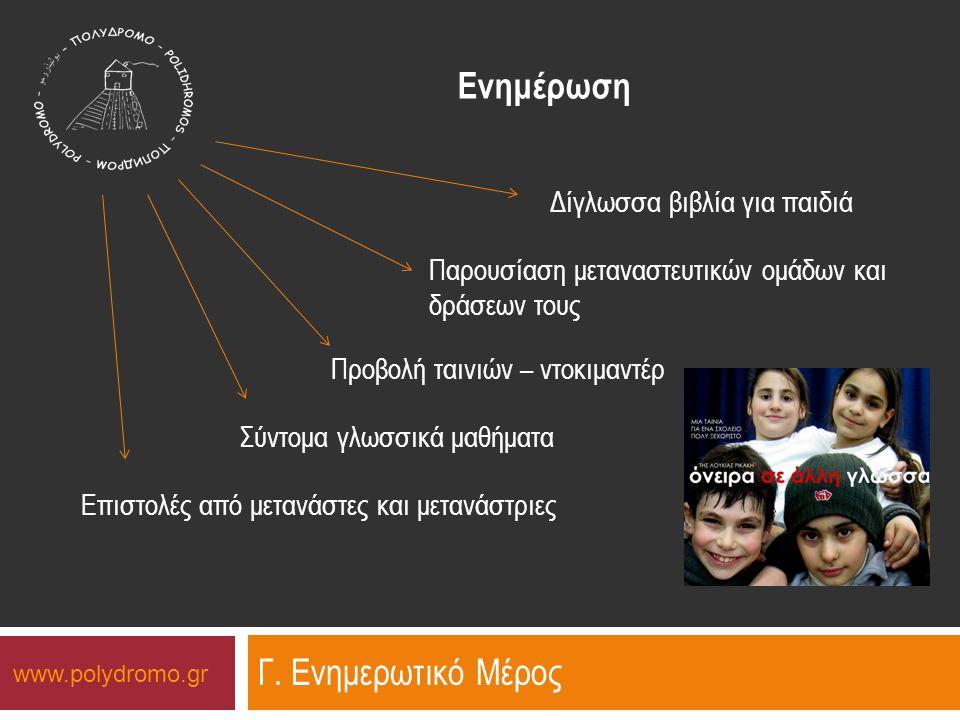 www.polydromo.gr Ενημέρωση Γ.