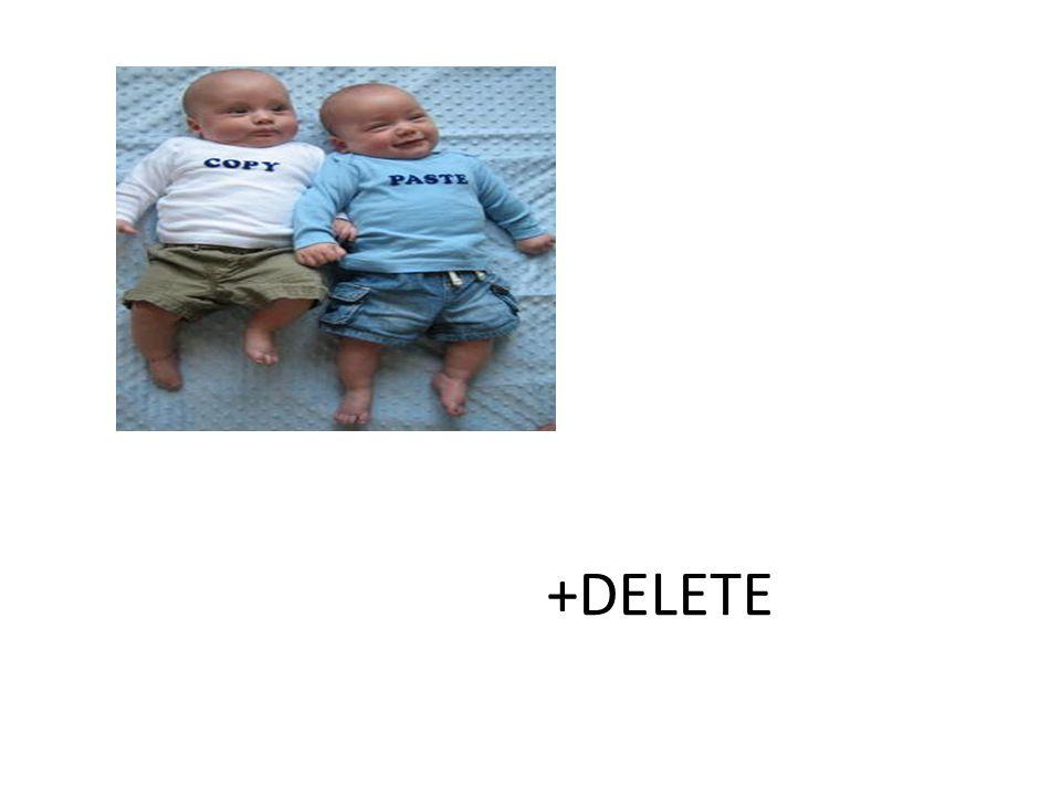 +DELETE