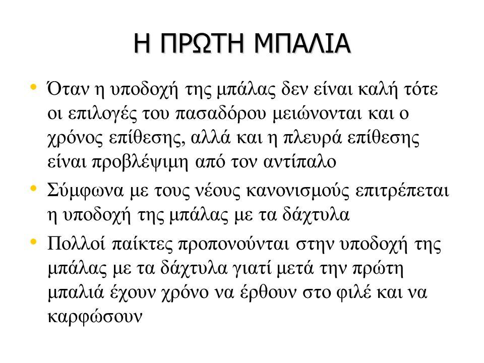 ΒΙΒΛΙΟΓΡΑΦΙΑ • • Ζέτου, Ε., Χαριτωνίδης, Κ.(2001).Η διδασκαλία της Πετοσφαίρισης.