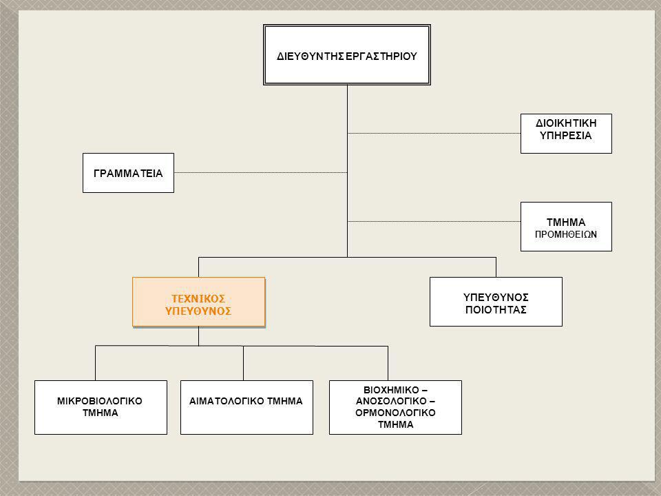  Πτυχίο AEI ή ΤΕΙ  Πολύ καλή γνώση δοκιμών συναφών με το αντικείμενο δραστηριοποίησης του εργαστηρίου.