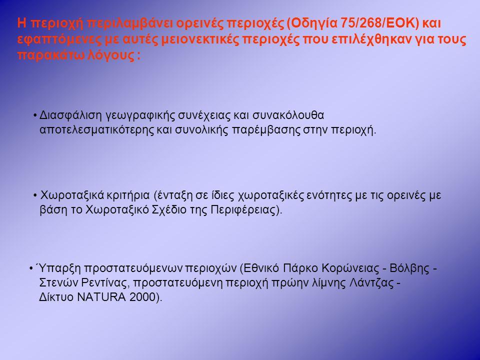 (β)Στόχοι – Στρατηγική Τοπικού Προγράμματος.