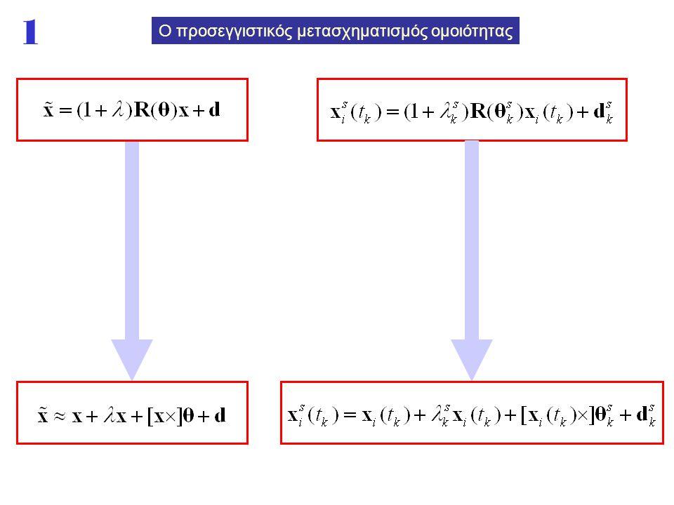 Ο προσεγγιστικός μετασχηματισμός ομοιότητας 1