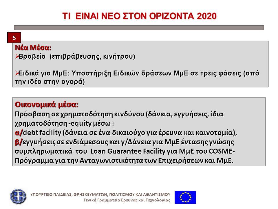 ΟΡΙΖΟΝΤΑΣ 2020: ΕΦΑΡΜΟΓΗ ΠΑΚΕΤΑ ΠΡΟΓΡΑΜΜΑΤΩΝ (WorkProgrammes/WPs) ΟΡΙΖΟΝΤΑΣ 2020: ΕΦΑΡΜΟΓΗ ΠΑΚΕΤΑ ΠΡΟΓΡΑΜΜΑΤΩΝ (WorkProgrammes/WPs)  Πακέτα Προγραμμάτων : Εξειδίκευση του Ειδικού προγράμματος ανά « τομέα » στη βάση των κανόνων συμμετοχής και του Οικονομικού Κανονισμού της Ε.