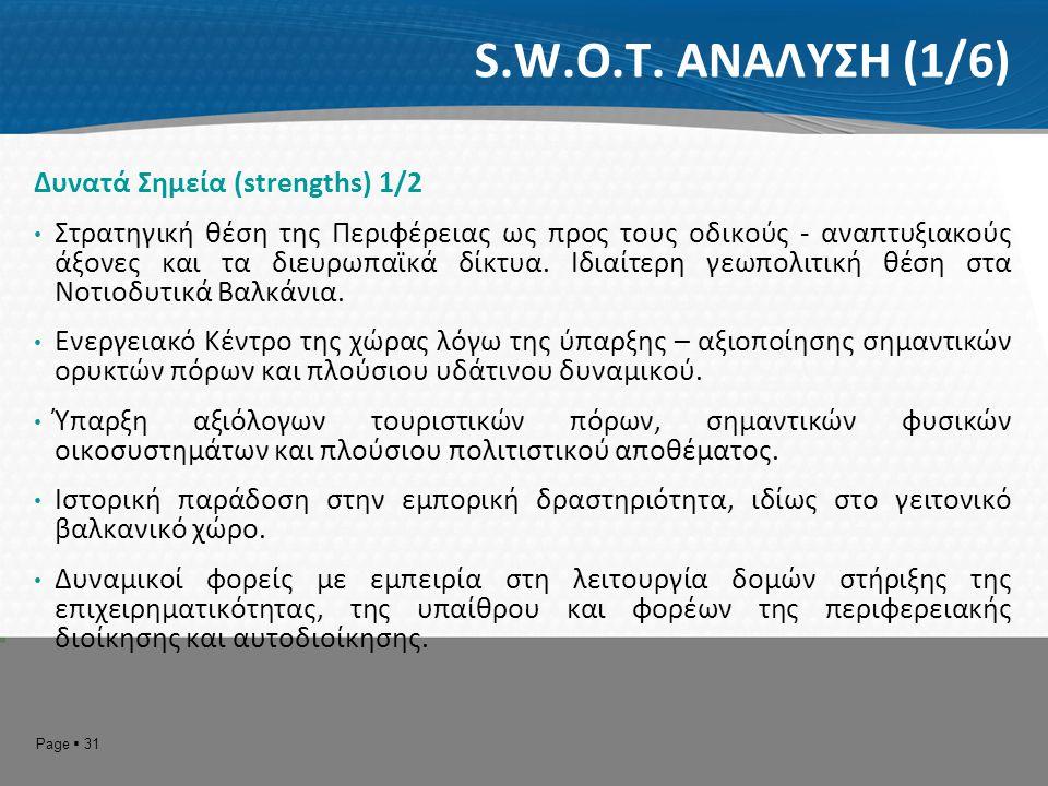 Page  32 S.W.O.T.