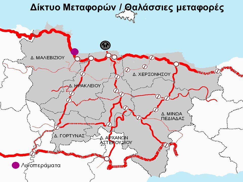 Δίκτυο Μεταφορών / Θαλάσσιες μεταφορές