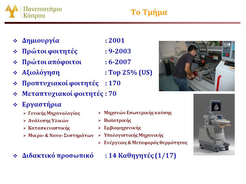 Προπτυχιακό Πρόγραμμα Σπουδών Προαπαιτούμενα ECTSΕξάμηνο Μάθημα Διπλώματος Κωδικός Μαθήματος ΜΜΚ 411Ψύξη, Θέρμανση και Κλιματισμός 67 ο ή 8 ο ΜΜΚ312 ΜΜΚ 412Ανώτερη Υπολογιστική Μηχανική 67 ο ή 8 ο ΜΜΚ311 ΜΜΚ 413Ηλεκτρομηχανικά Συστήματα Μετατροπής Ενέργειας 67 ο ή 8 ο ΜΜΚ103 ΜΜΚ 414Μηχανές Εσωτερικής Καύσης 67 ο ή 8 ο ΝαιΜΜΚ312 ΜΜΚ 415Ηλιακή Μηχανική και Εφαρμογές Ηλιακής Ενέργειας 67 ο ή 8 ο ΜΜΚ411 ΜΜΚ 418Φαινόμενα Μεταφοράς 67 ο ή 8 ο ΜΜΚ 421Προχωρημένη Δυναμική και Ταλαντώσεις 67 ο ή 8 ο ΜΜΚ331 ΜΜΚ 422Δυναμική Μηχανών και Μηχανισμών 67 ο ή 8 ο ΝαιΜΜΚ221 ΜΜΚ 431Μηχανική Ακουστική 67 ο ή 8 ο MAΣ043 ΜΜΚ 432Εισαγωγή σε Διαγνωστικές και Απεικονιστικές Τεχνικές 67 ο ή 8 ο ΜΑΣ 043 ΜΜΚ 433Προχωρημένη Αντοχή Υλικών 67 ο ή 8 ο ΝαιΜΜΚ231 ΜΜΚ 434Μηχανική κυττάρων και ιστών 67 ο ή 8 ο ΜΜΚ 441Οργάνωση Παραγωγής 67 ο ή 8 ο Ναι ΜΜΚ 451Χαρακτηρισμός Δομής και Μορφολογίας Υλικών 67 ο ή 8 ο ΜΜΚ252 ΜΜΚ 452Μηχανικές Ιδιότητες και Κατεργασία Πολυμερών 67 ο ή 8 ο ΜΜΚ252 ΜΜΚ 461Μηχανική και Θερμοδυναμική στη Νανοκλίμακα 67 ο ή 8 ο ΜΜΚ 211, ΜΜΚ331 ΜΜΚ 462Επιστήμη των Στερεών Υλικών 67 ο ή 8 ο ΜΜΚ252 ΜΜΚ 463 Εισαγωγή στις αρχές λειτουργίας, σχεδιασμό και κατασκευή μικρό- ηλεκτρό-μηχανικών συστημάτων 67 ο ή 8 ο ΜΜΚ 221 ΜΜΚ 464Εισαγωγή στις αρχές των ημιαγωγών και φωτοβολταϊκά στοιχεία 6 7 ο ή 8 ο ΜΜΚ252 Κατ' επιλογήν Υποχρεωτικά μαθήματα