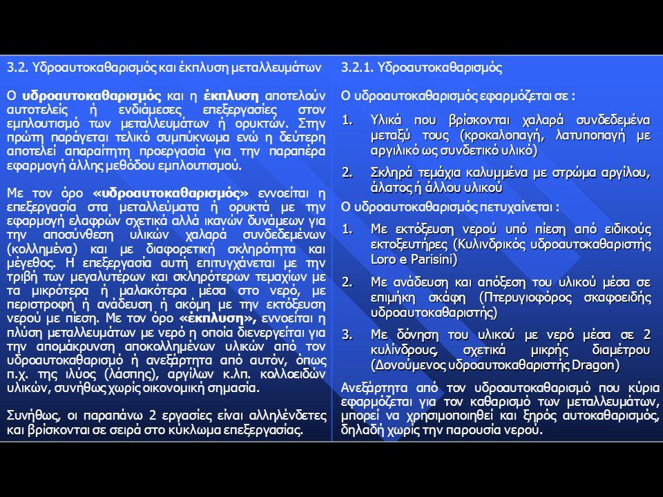 Η συμπεριφορά των τεμαχίων σε κατάστρωμα ροής μεμβράνης νερού εξαρτάται από τους παρακάτω παράγοντες : 3.7.2.
