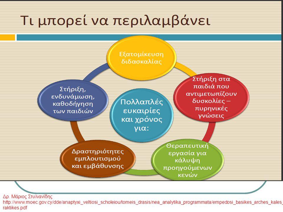  Συνδυασμοί και παραλλαγές Κέντρα μάθησης ή σταθμοί μάθησης για κάποιους μαθητές και μετωπική διδασκαλία σε άλλους (εξατομίκευση).