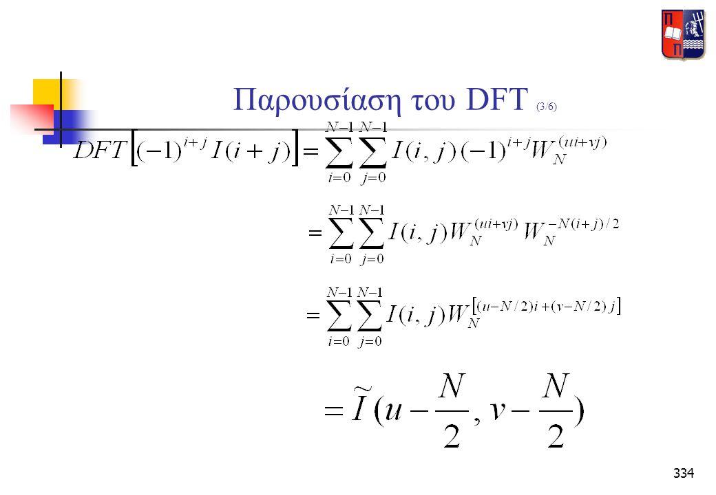 334 Παρουσίαση του DFT (3/6)