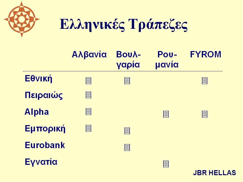 Ελληνικές Τράπεζες JBR HELLAS