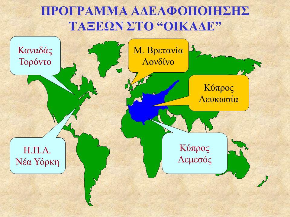 ΜΙΑ ΠΑΓΚΟΣΜΙΑ ΤΑΞΗ www.oikade.gr Αρκεί ένα κλικ στην ηλεκτρονική διεύθυνση και οι μικροί ταξιδιώτες θα έχουν την ευκαιρία να γνωρίσουν την ελληνική μας ταυτότητα, να παίξουν παιχνίδια γνώσεων, να μάθουν ιστορία, μυθολογία, να εξερευνήσουν, να ακούσουν παραδοσιακή μουσική, να διασκεδάσουν και να αντιληφθούν την παγκόσμια παρουσία του ελληνισμού, μέσα από ένα ταξίδι προς την πατρίδα.