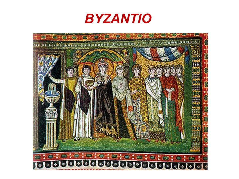  Στο Βυζάντιο επικρατούσε μια επίσημη, παραστολισμένη παραλλαγή της ελληνορωμαϊκής ενδυμασίας.