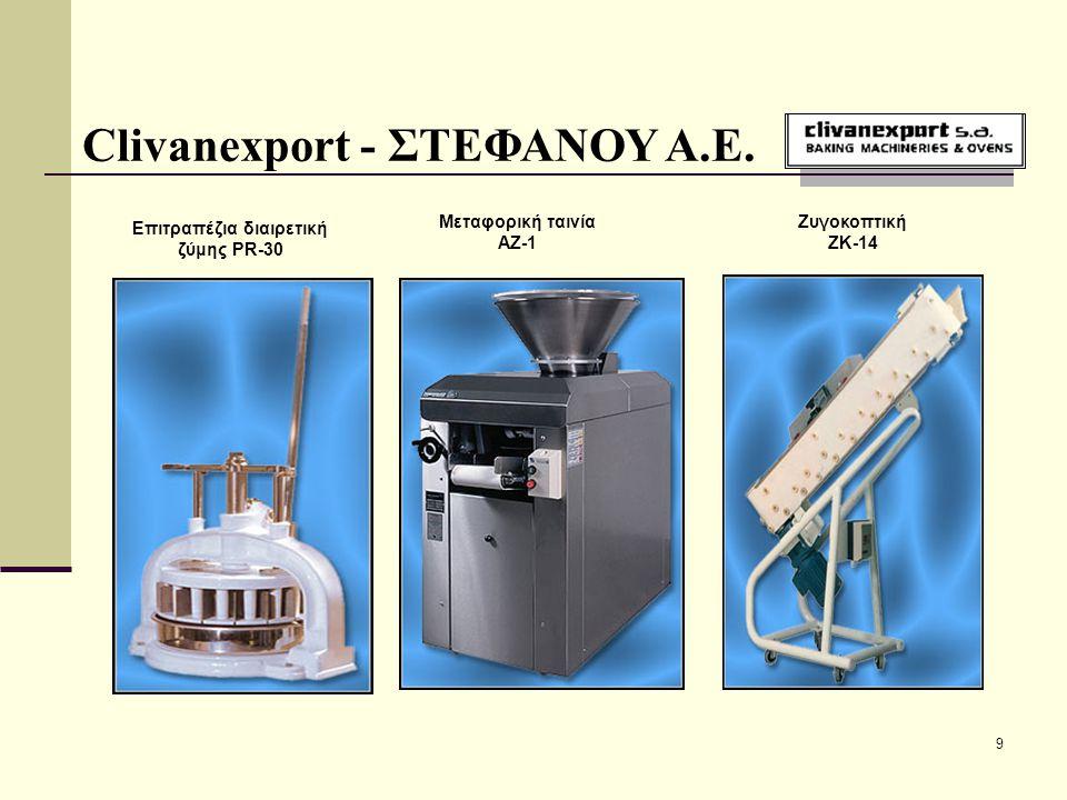 10 Clivanexport - ΣΤΕΦΑΝΟΥ Α.Ε.