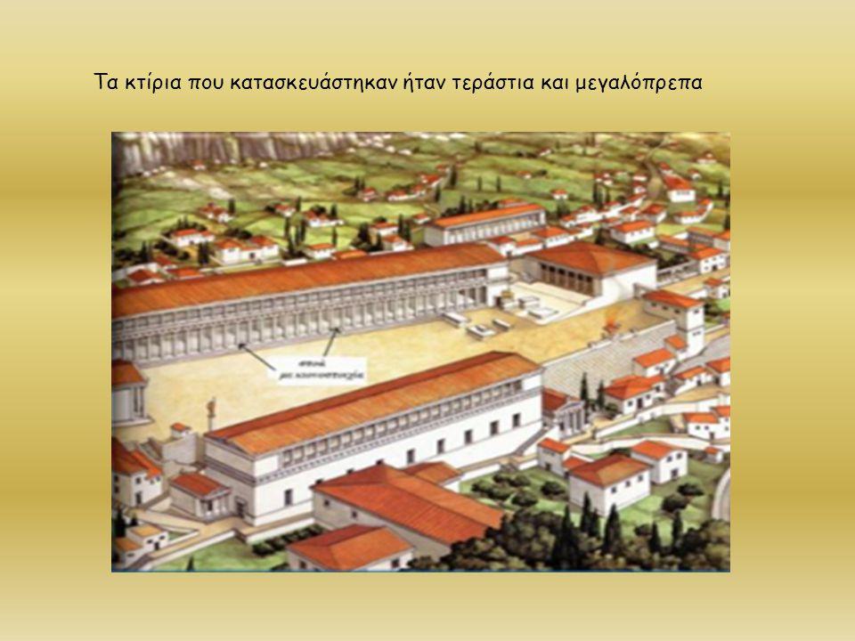 Την εποχή αυτή κατασκευάζονται και τα 3 από τα 7 θαύματα του αρχαίου κόσμου