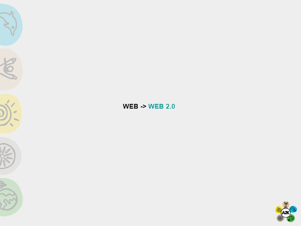 WEB -> WEB 2.0