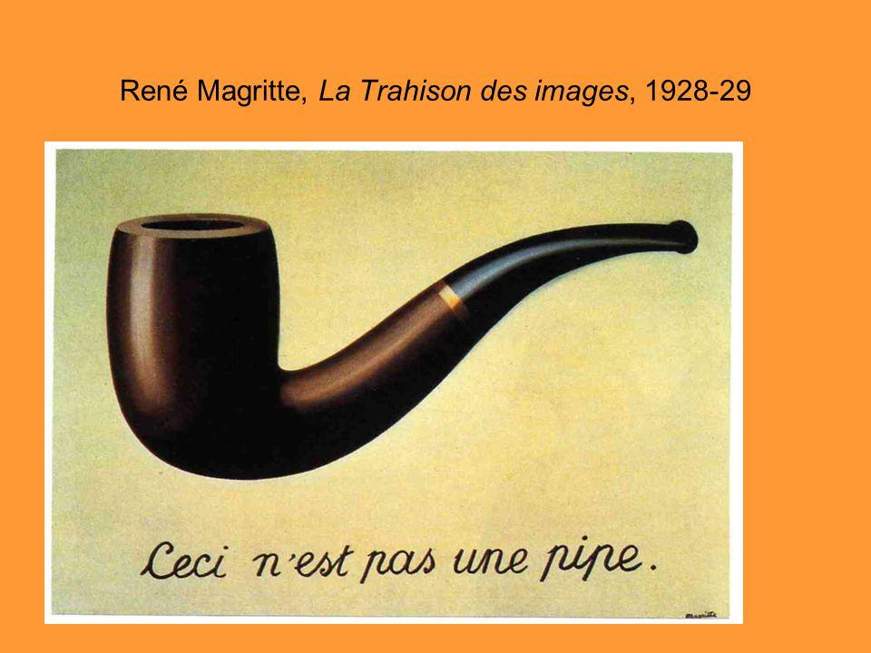 René Magritte, La Trahison des images, 1928-29