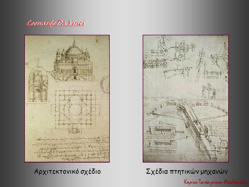 Αρχιτεκτονικό σχέδιοΣχέδια πτητικών μηχανών Κορίνα Τσιτσιρίκου Θεοδοσιάδη