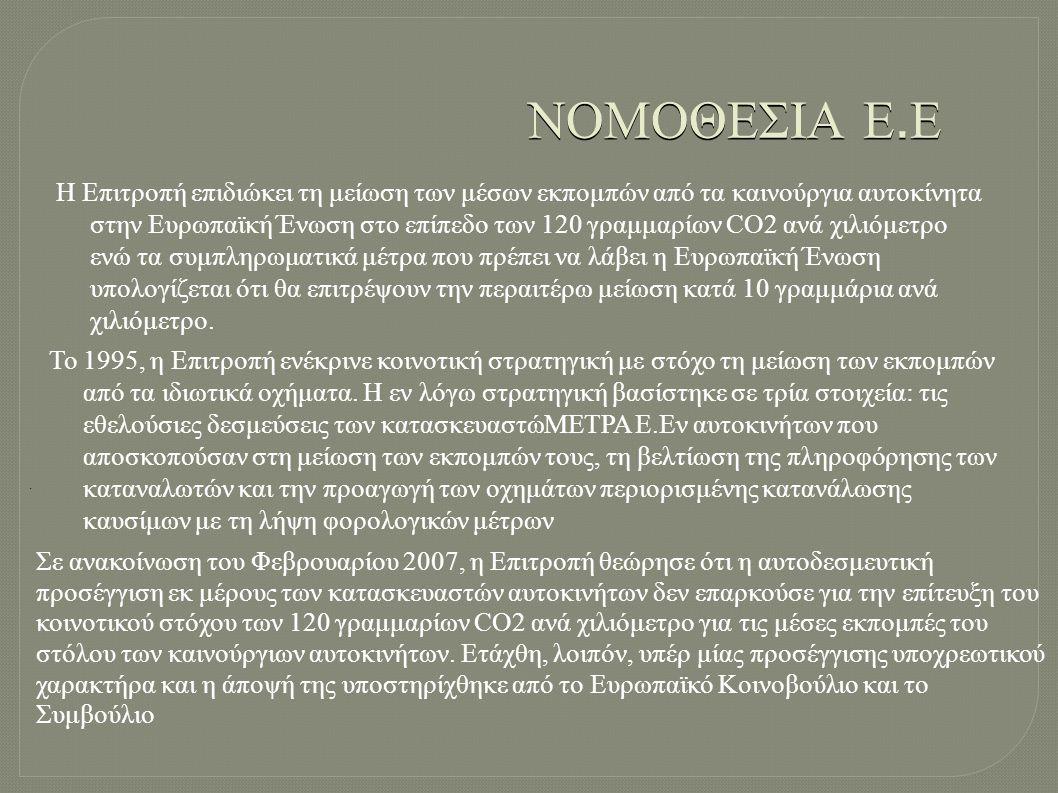 ΝΟΜΟΘΕΣΙΑ Ε.