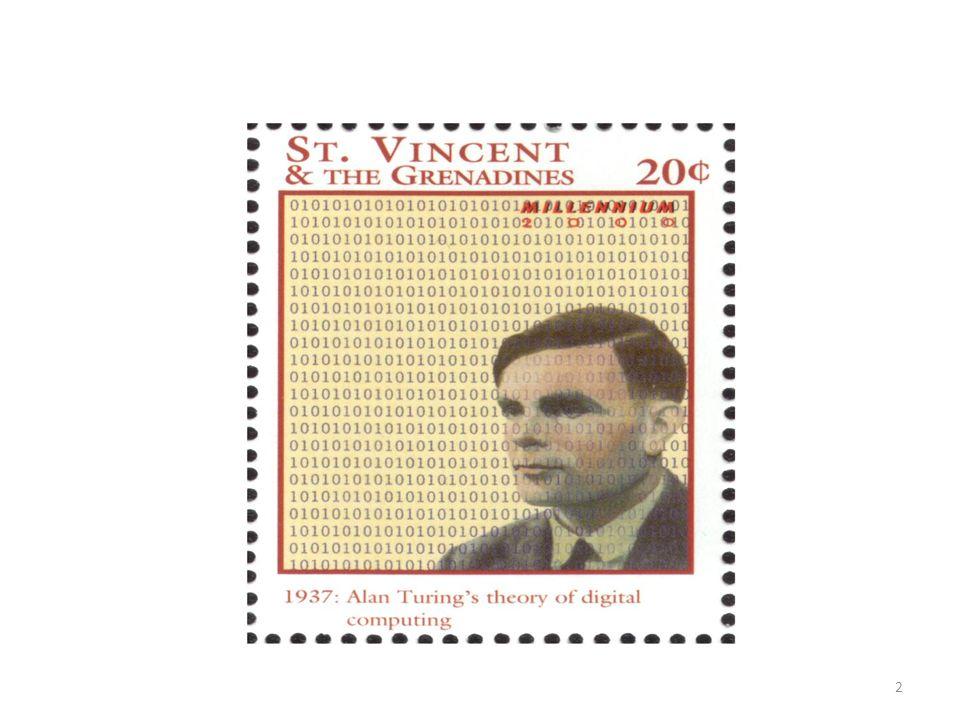 • Γεννήθηκε το1912 στο Λονδίνο • Γονείς ο Julius Turing (Δημόσιος Υπάλληλος στην Ινδία ) και η Ethel Stoney ( Ιρλανδή γεννημένη στο Μάντρας της Ινδίας ) • Στα πρώτα παιδικά του χρόνια αναδεικνύονται τα χαρακτηριστικά ενός ευφυούς παιδιού αλλά αδέξιου και ακατάστατου.