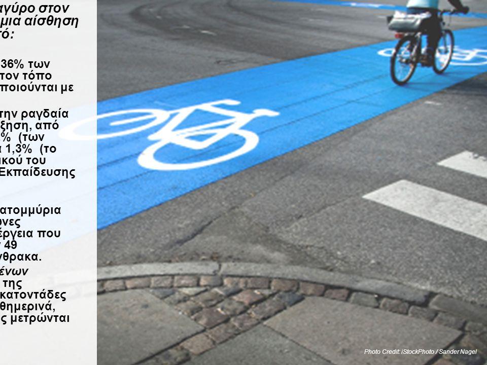 Τα κομμάτια του Puzzle Χώρες και πόλεις αναγύρο στον κόσμο μας δίνουν μια αίσθηση για το τι είναι εφικτό: •Στην Κοπεγχάγη, το 36% των μετακινήσεων προ