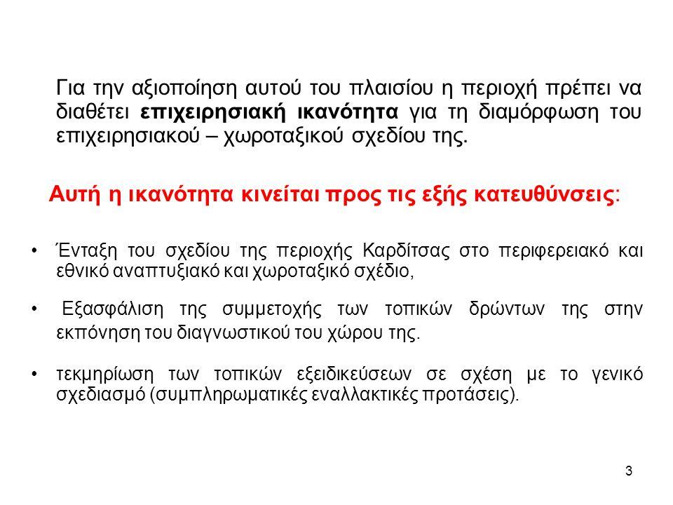 34 Δικτύωση και συνεργασία μεταξύ μικρών πόλεων στην κεντρική Θεσσαλία
