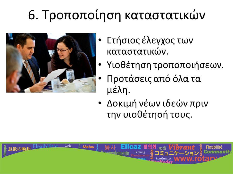7.Ανάπτυξη ισχυρών σχέσεων • Παροχή ευκαιριών συνεργασίας.