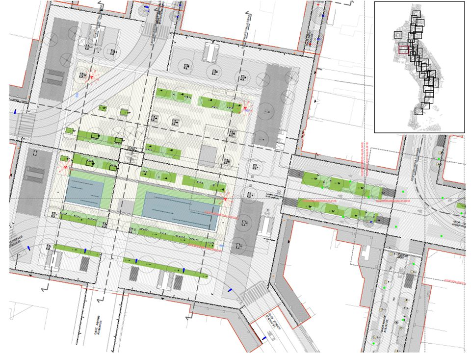 Η πλατεία της Δικαιοσύνης θα γίνει στα αλήθεια πλατεία, με φιλική σκιά και ελεύθερο πεδίο που θα προσφέρει μια ευχάριστη ανάπαυλα στη βιαστική δραστηριότητα της πόλης Ανασχεδιασμός και ανάδειξη των πλατειών
